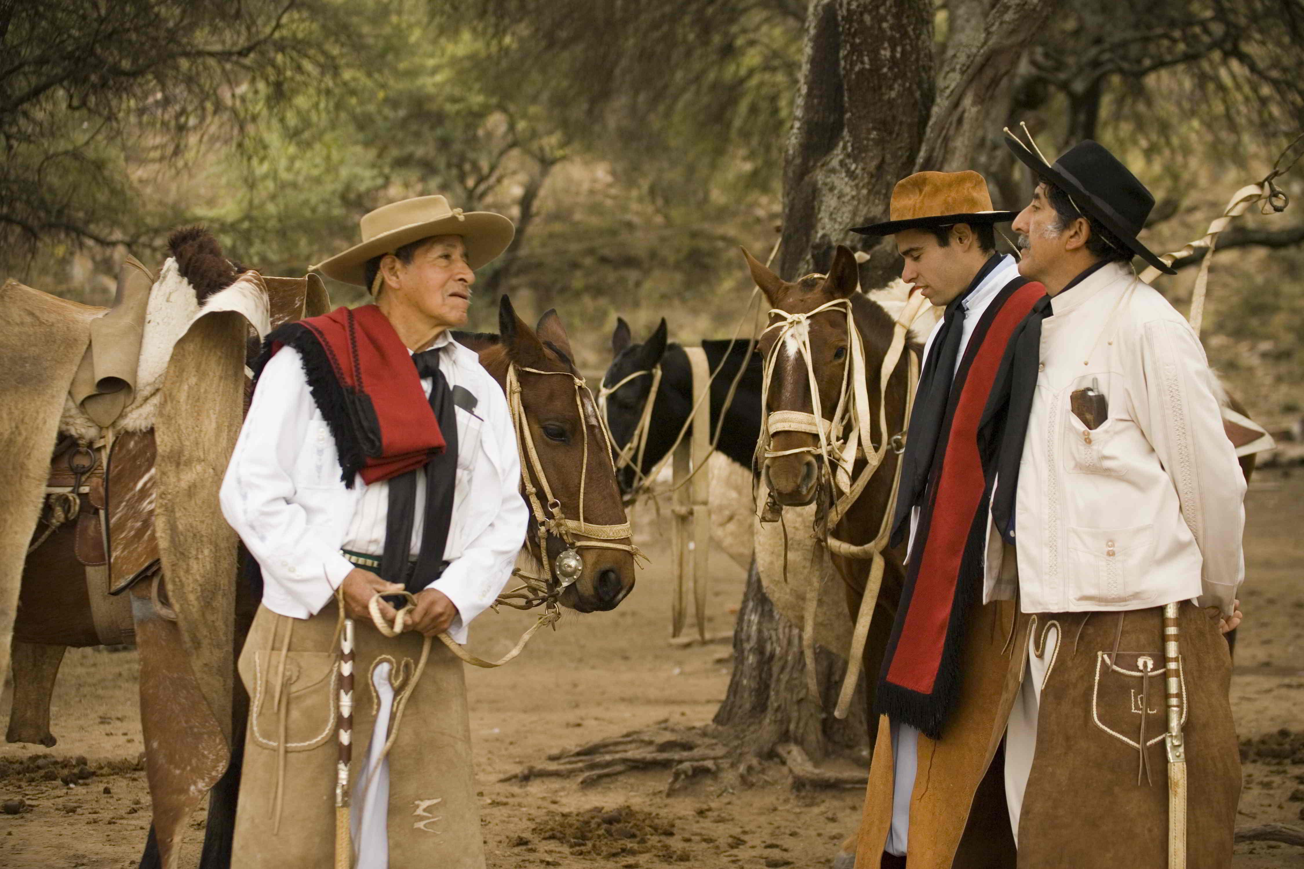 Bij uw rondreis door Argentinië komt u misschien wel Gaucho's tegen. Dit zijn de oorspronkelijke Argentijnse cowboys.