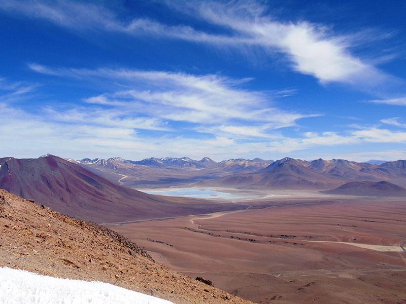 De Atacama woestijn in Chili wordt uitgebreid bezocht tijdens onze 18-daagse Chili rondreis.