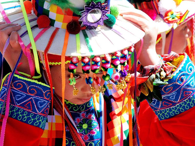 Met uw individuele reis in Chili en Argentinië ziet u veel verschillende kledingdrachten.