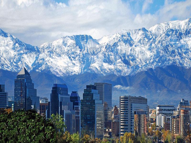 De rondreis is inclusief een bezoekje aan Santiago in Chili.