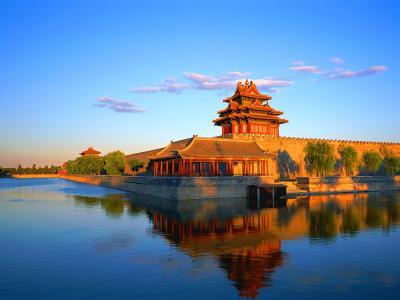 Een prachtige traditionele Chinese pagoda.