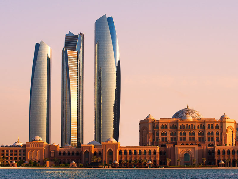 Tijdens de autorondreis ziet u in Abu Dhabi en in Dubai bijzondere architectuur.