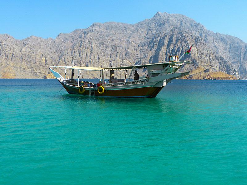 Maak een boottocht door de prachtige fjorden van Mudandam