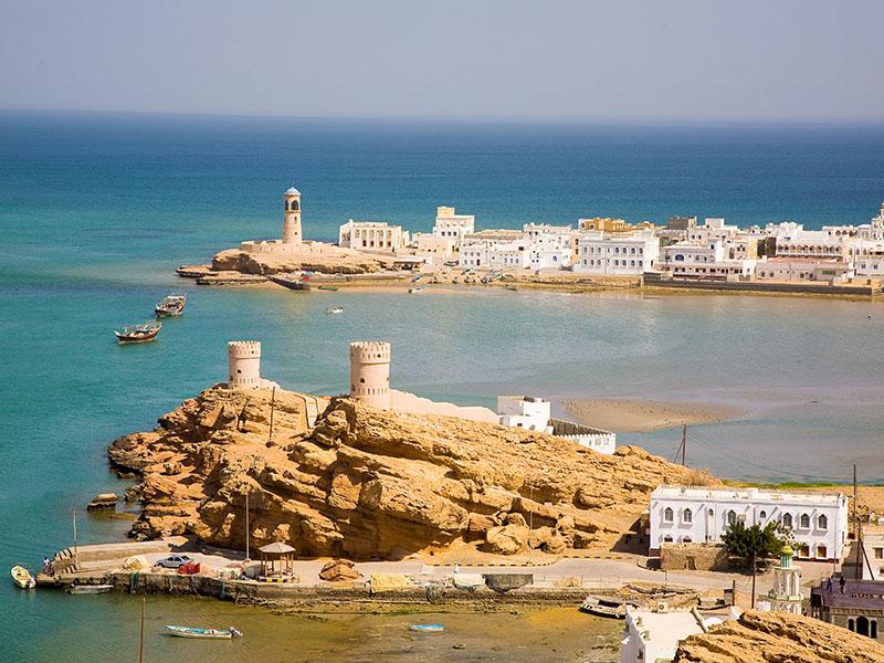 Vanuit Sur bezoekt u de schildpadden en de Wadi's van Oman.
