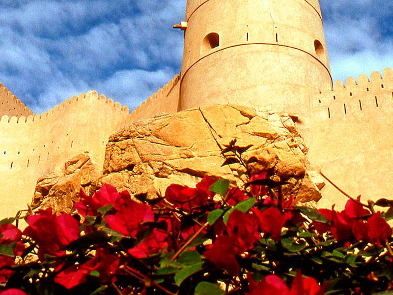 Forten ziet u overal in Oman tijdens de rondreis Oman.