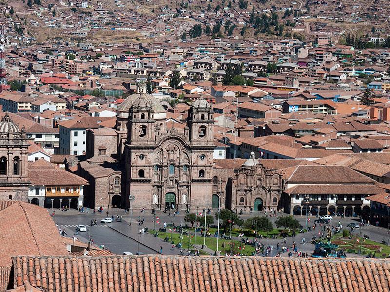 Cusco wordt uitgebreid bezocht tijdnes onze rondreis Peru en Ecuador.