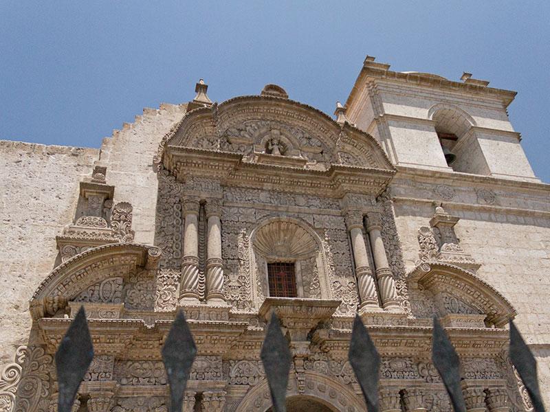Tijdens de rondreis Peru bezoekt u Arequipa uitgebreid.