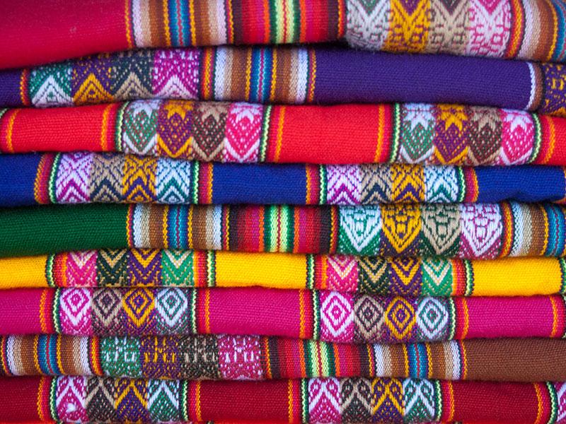 Tijdens de rondreis Peru bezoekt u verschillende indianenmarkten.