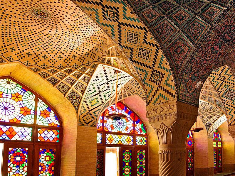 Iran staat bekend om haar mozaieken.