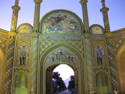 Zulke gebouwen ziet u overal in Iran tijdens uw rondreis