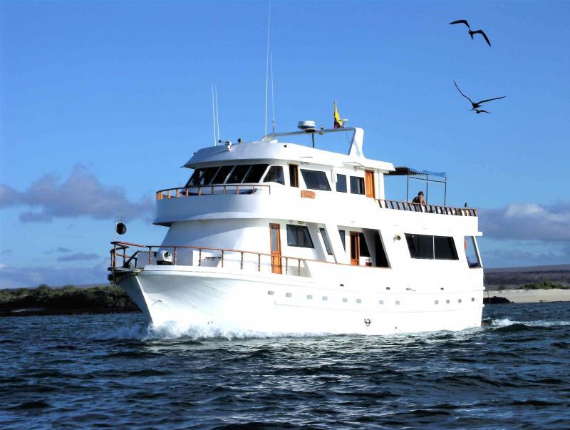 Een prachtige Cruise bij de Galapagos Eilanden.