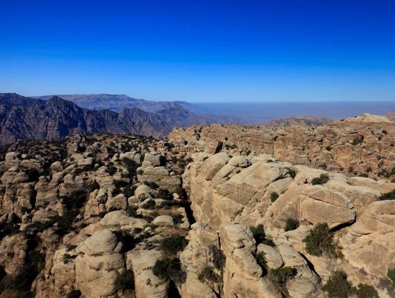 De natuur in Dana laat u zien hoe prachtig Jordanie is