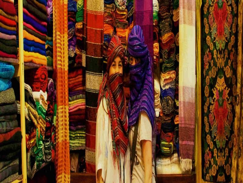 De medina waar je goed kunt shoppen