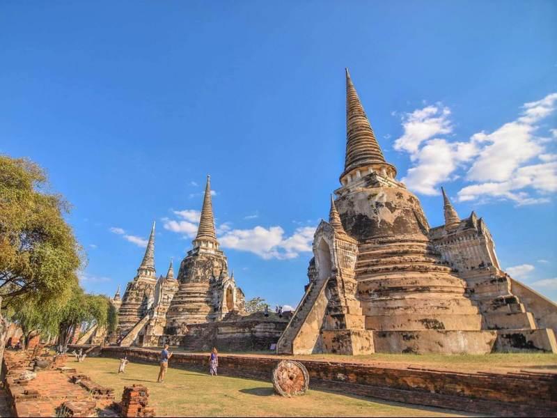Ayutthaya is ook een prachtige plek om te bezoeken
