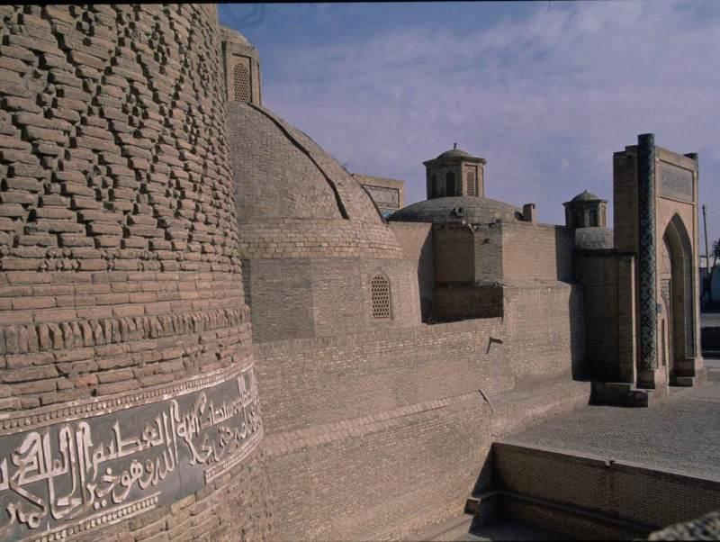 Vabkent staat bekend om de textiel in dit land