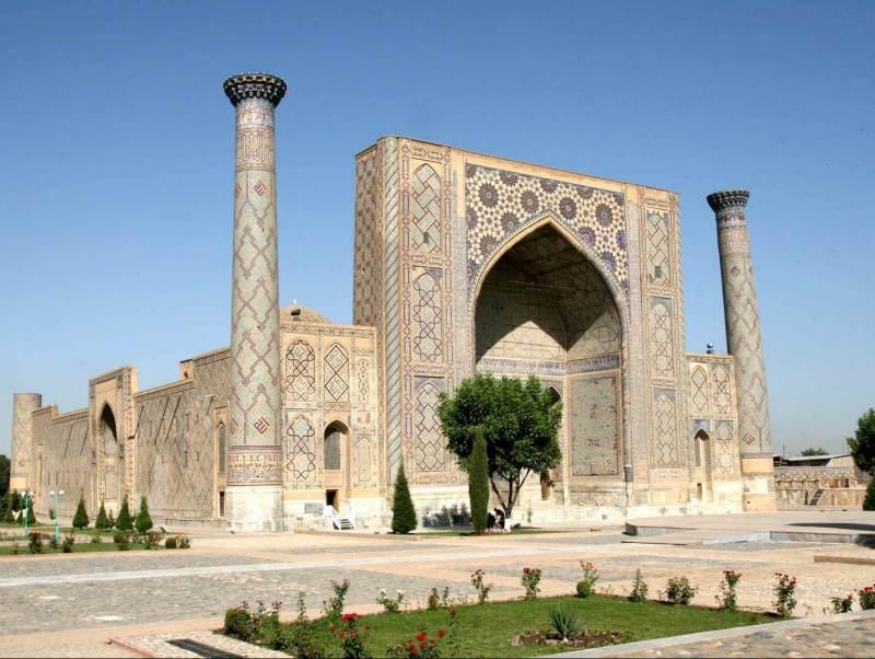 Samarkand is het hoogtepunt van uw reis