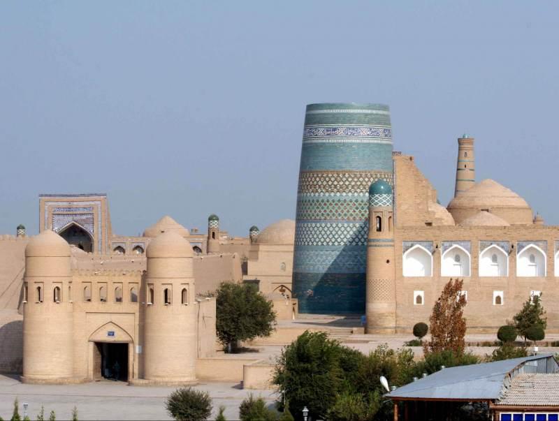 Khiva is een belangrijke stad in Uzbekistan