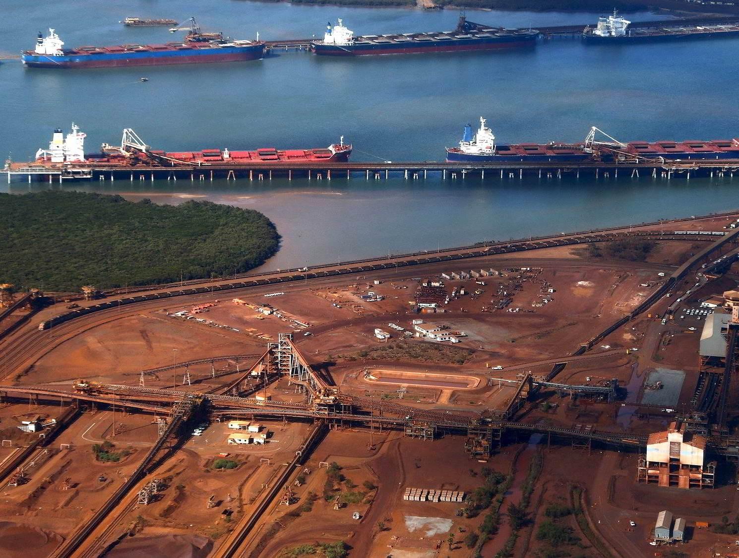 Bezichtig Port Hedland tijdens uw rondreis en zie de geschiedenis in werking