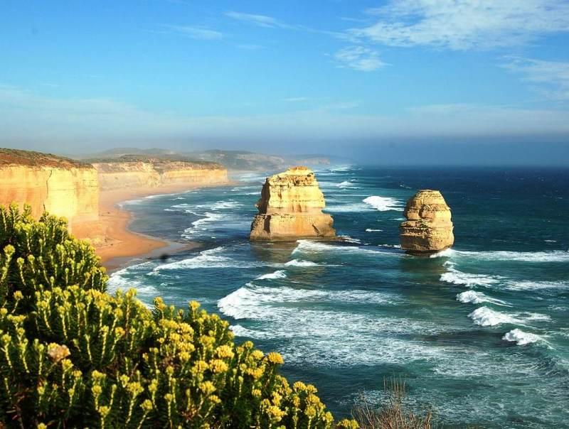 De woeste rivieren van Australie zorgen voor een prachtig uitzicht