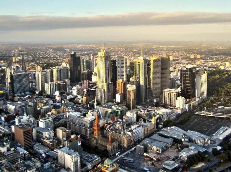 De interesante steden van Australie zult u ook zeker niet missen