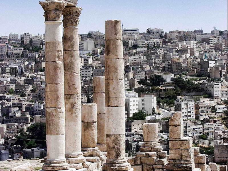 Amman bezit veel archeologische vondsten, deze hoofdstad van Jordanie heeft een hoop historie te bieden