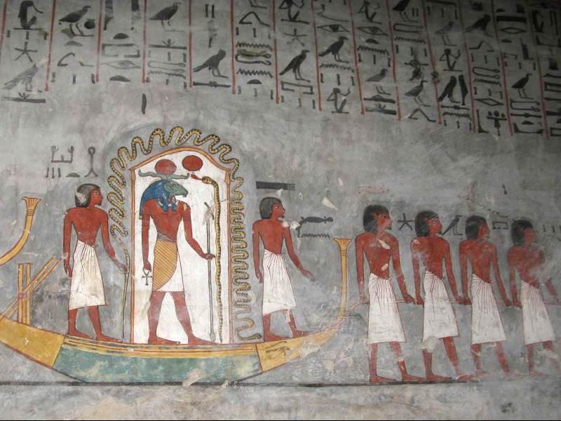 Verken de oude egyptishe tekens in het mysteriouze egypte