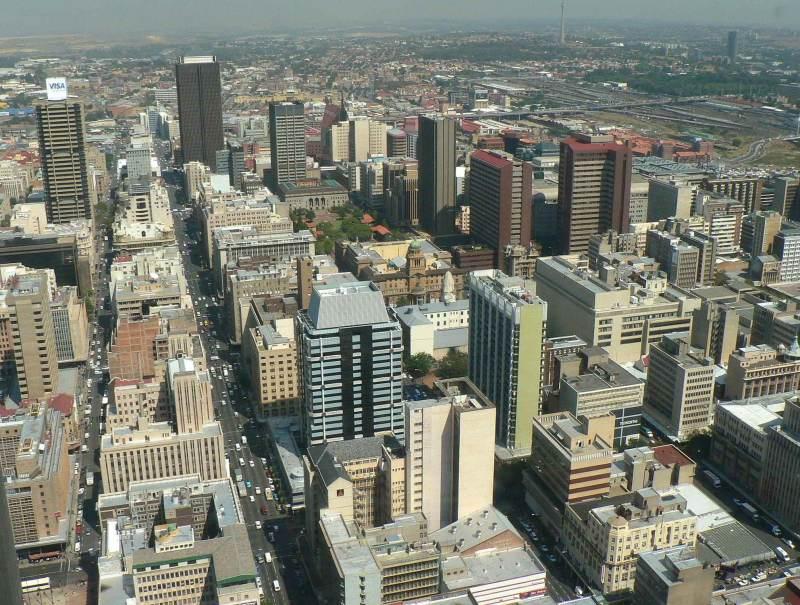 In Johannesburg kunt u prima rondstruinen en deze stad ontdekken