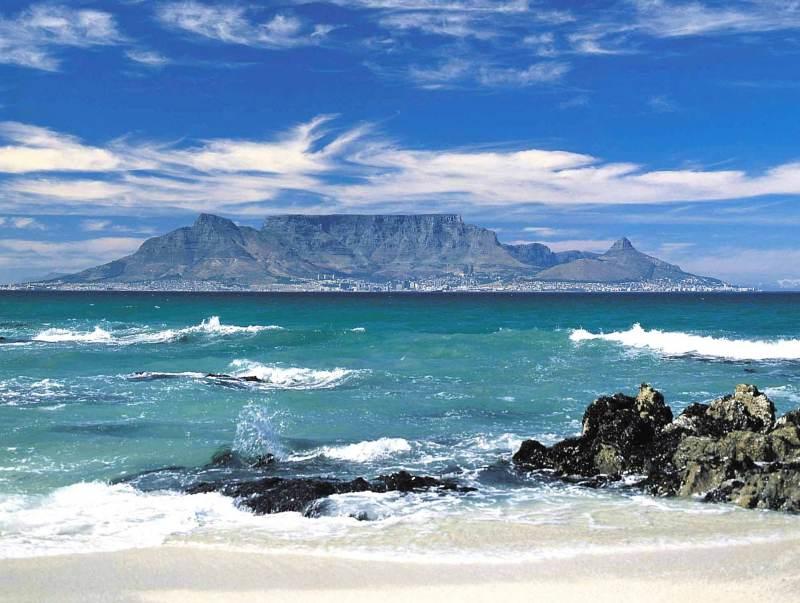 Table Mountain geeft een uniek uitzicht over dit land.
