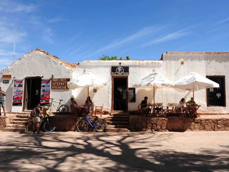 Een gezellige dorpje gelegen in Noord Chili