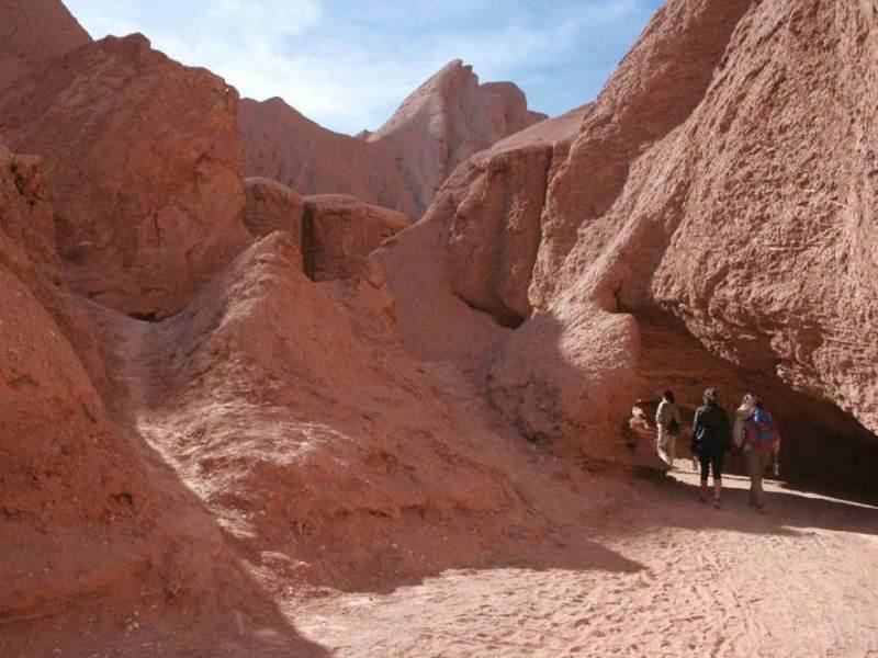 Er zijn mooie wandelingen te maken door Noord Chili