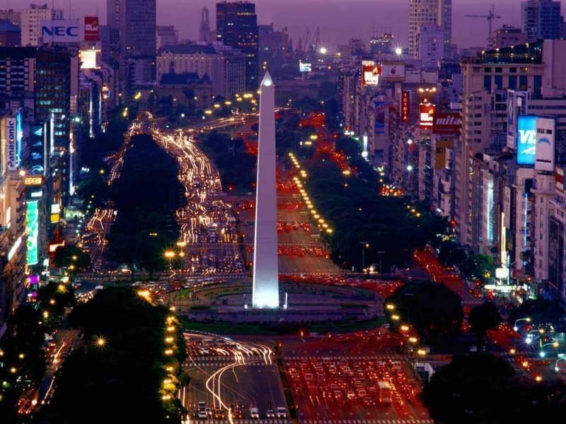 Een foto van de stad Buenos Aires die u gaat bezoeken tijdens de rondreis