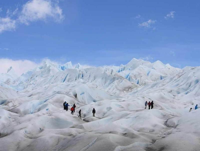 De Perito Moreno Glacier die u tijdens u reis gaat bezichtigen