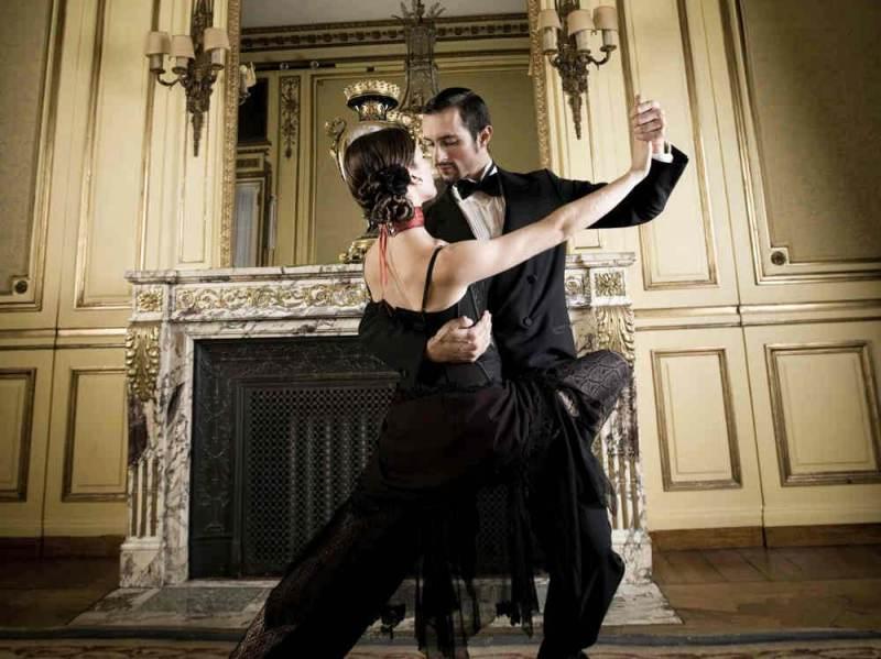 De tango ontstaan in Buenos Aires