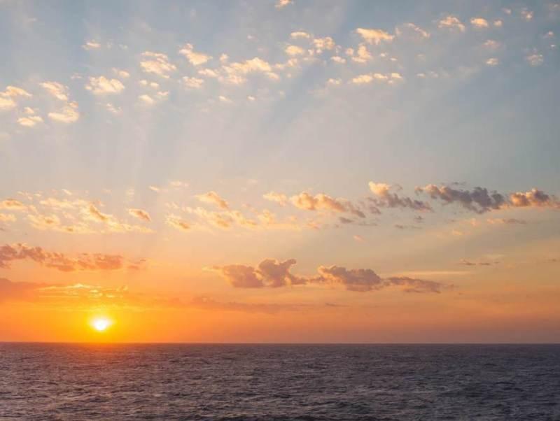 De prachtige zon in argentinie
