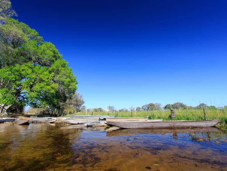 In Botswana zijn veel wateren en rivieren te vinden. Tijdens uw rondreis gaat u ook aan de rivier vebrlijven.