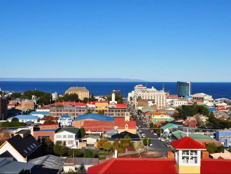 De gekleurde huizen in Puerto Montt