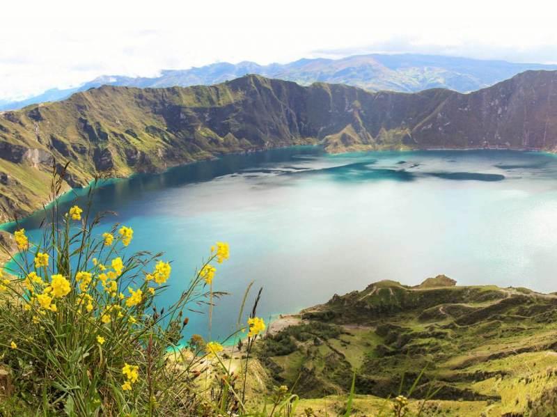 Tijdens uw rondreis door Ecuador zal u ontdekken hoe prachtig de natuur in Ecuador is.
