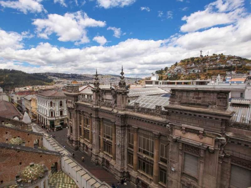 Quito, de hoofdstad van ecuador is ook in deze rondreis een van de bestemmingen
