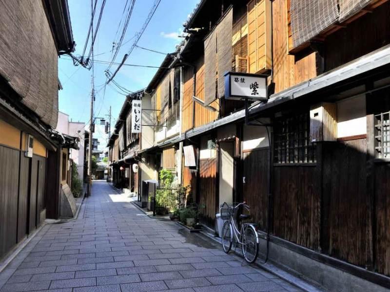 U gaat verschillende soorten japanse wijken tijdens uw rondreis bezoeken.