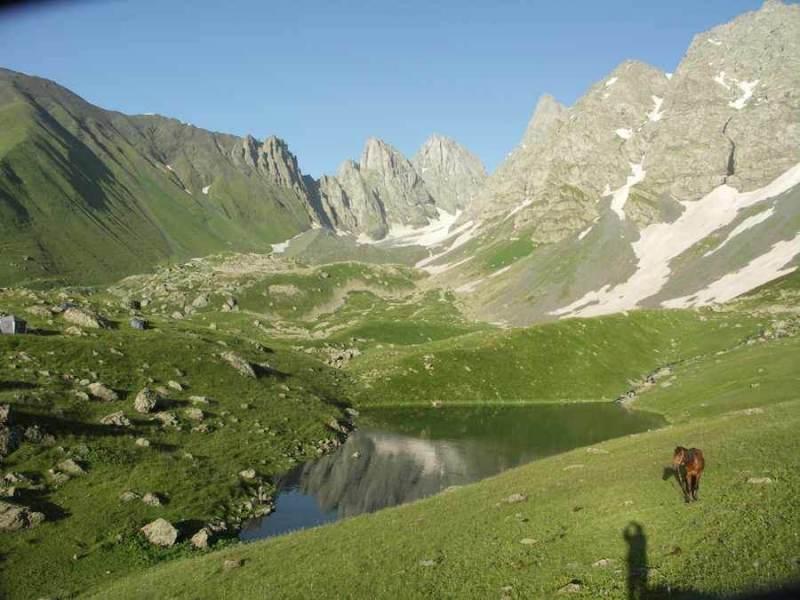 Het kaukasus gebergte loopt door heel georgie heen en zal een belangrijke rol spelen.