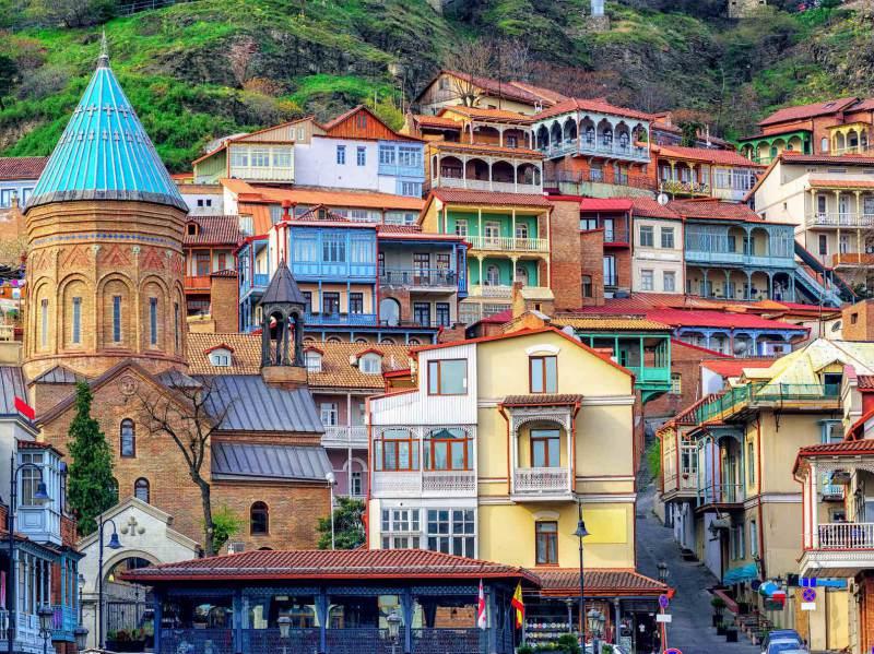 Georgië is een vakantieland met een oude cultuur en vele bezienswaardigheden