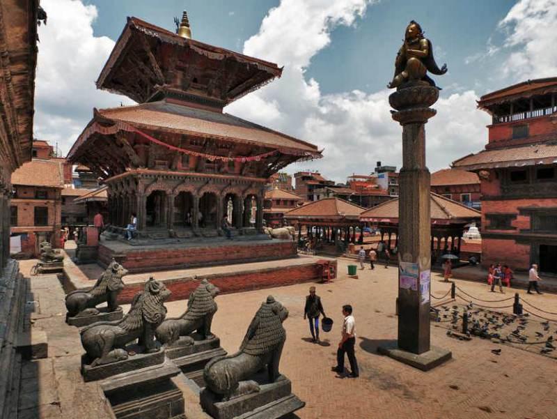 Het Durbar Square is zeer bekend in Nepal en ook een van de bestemming van uw vakantie