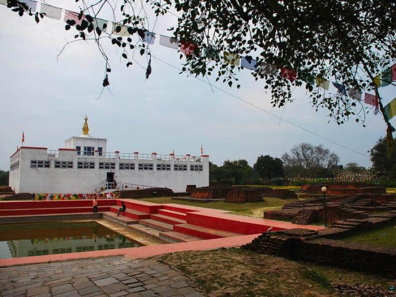 Lumbini is de geboortestad van Buddha wat erg belangrijk is in de cultuur van Nepal