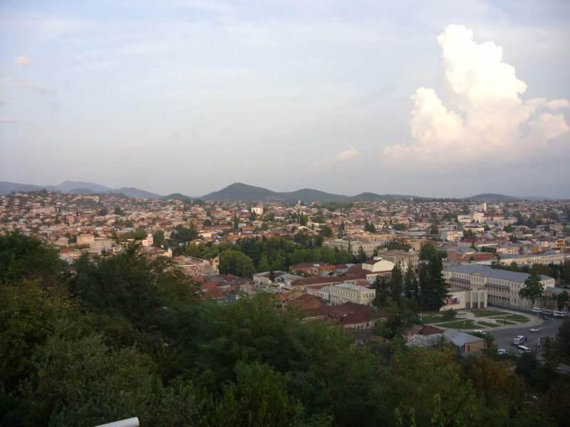 Kutaisi is de parlementaire hoofdstad van georgië